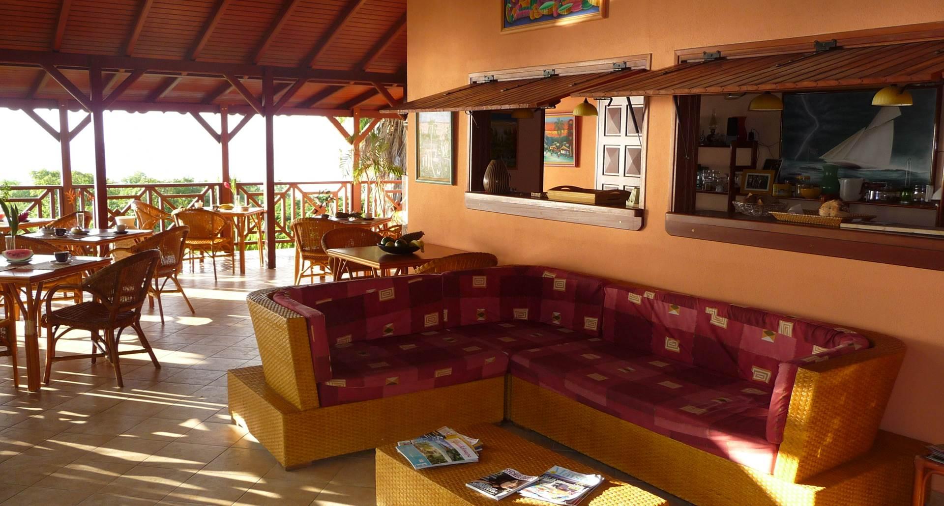 terrasse reception