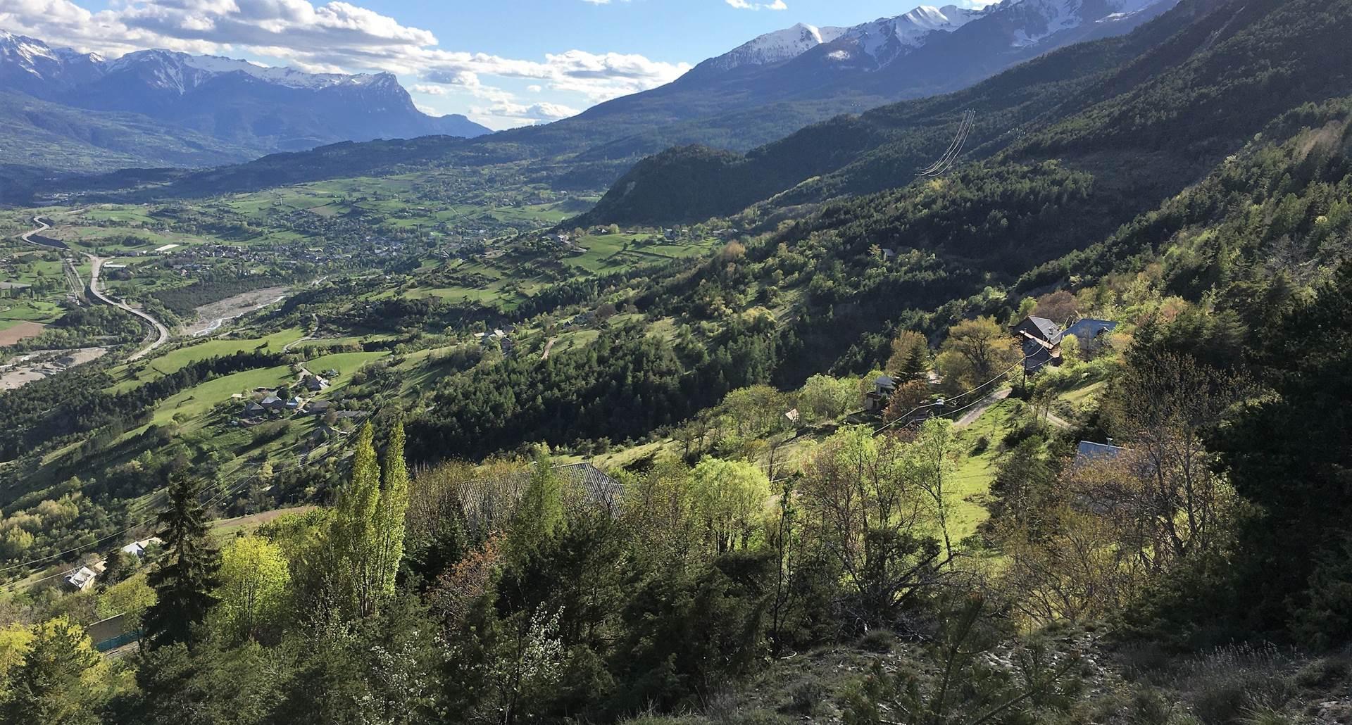 Serre Buzard Vallée de la Durance