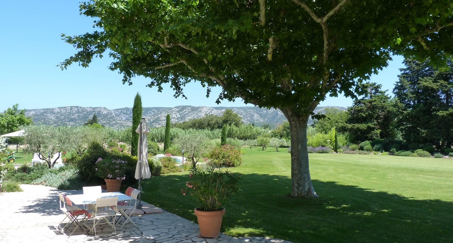 terrasse et Luberon
