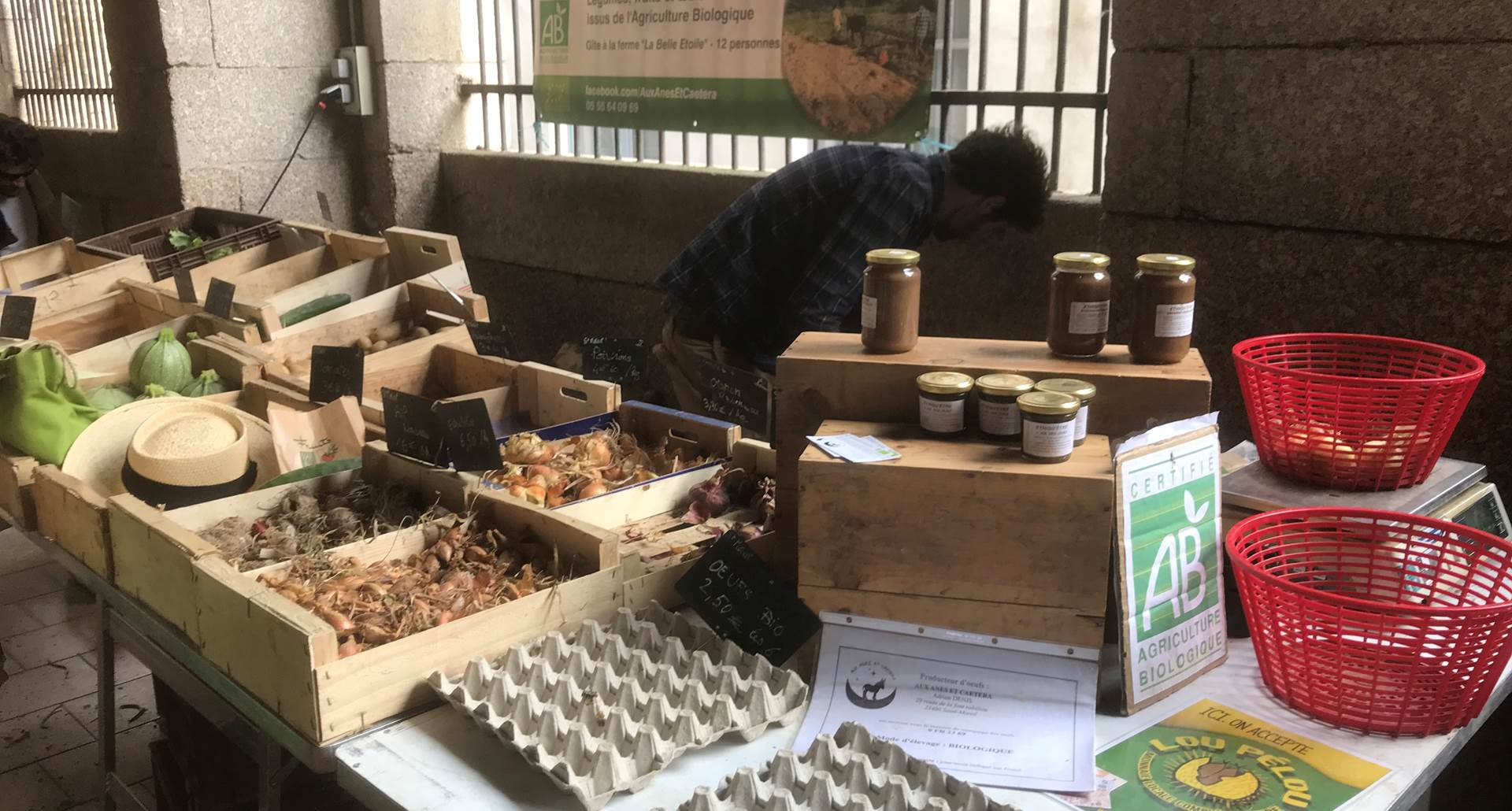 marché de petits producteurs, bio, table d'hôtes, saint-léonard de Noblat, nouvelle-aquitaine, gourmet