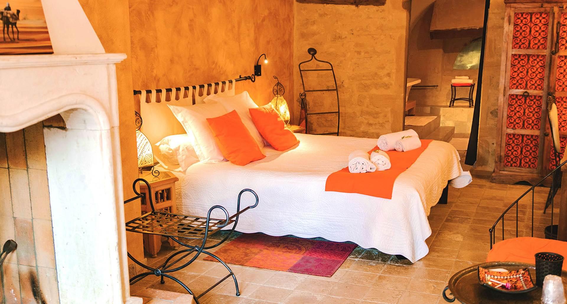 Les Orangers chambre deluxe face terrasse