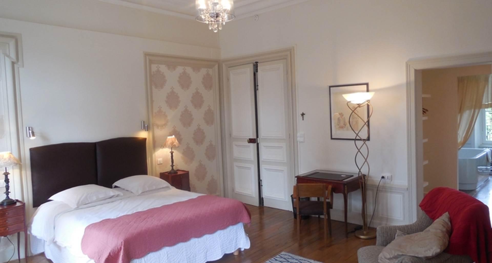 Lys Royale - vue chambre