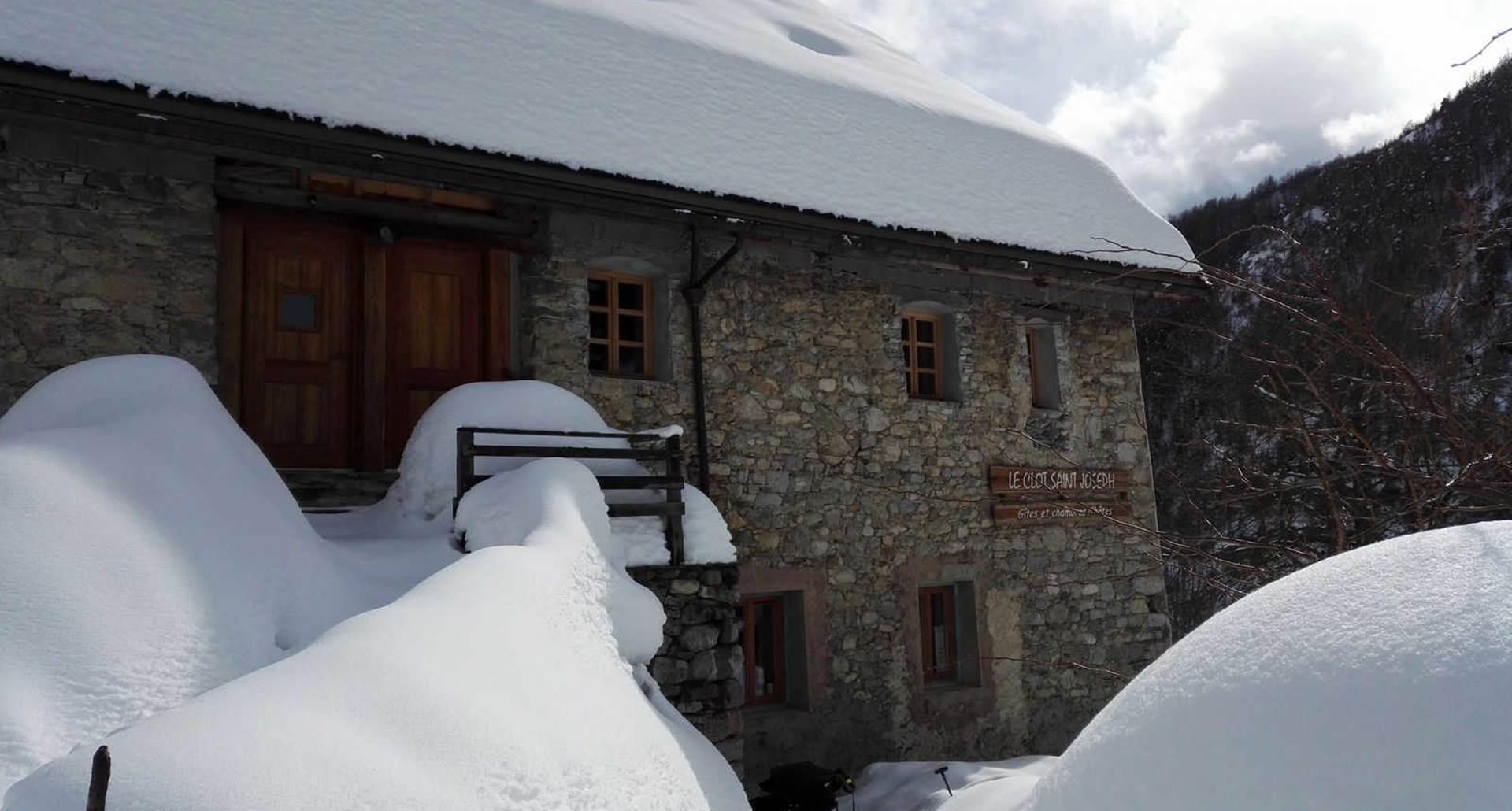Clot Saint Joseph l'hiver