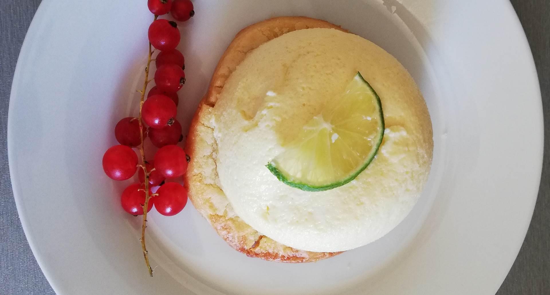 Cheese cake au citron vert maison