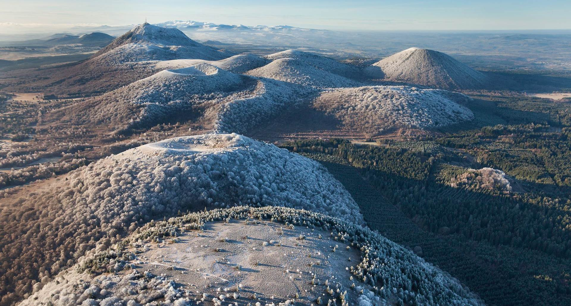Chaine des Puy classée UNESCO
