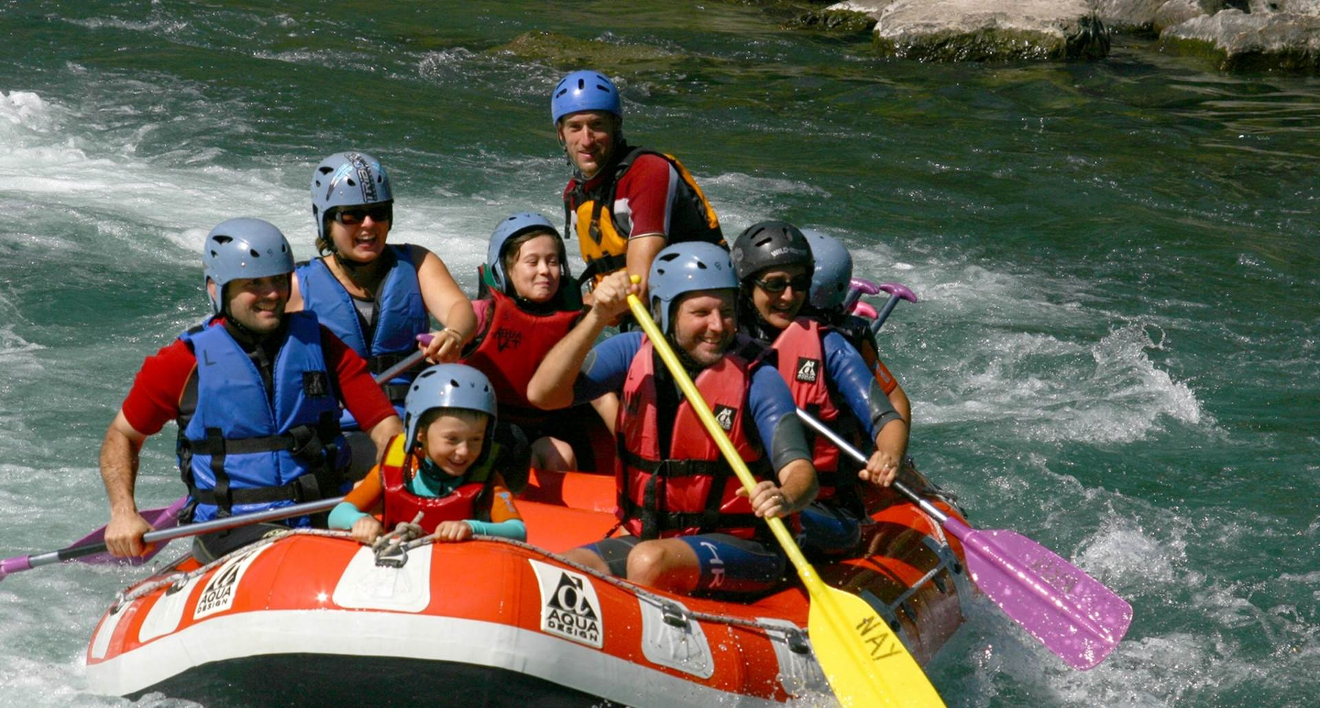 Rafting Evasi'eau