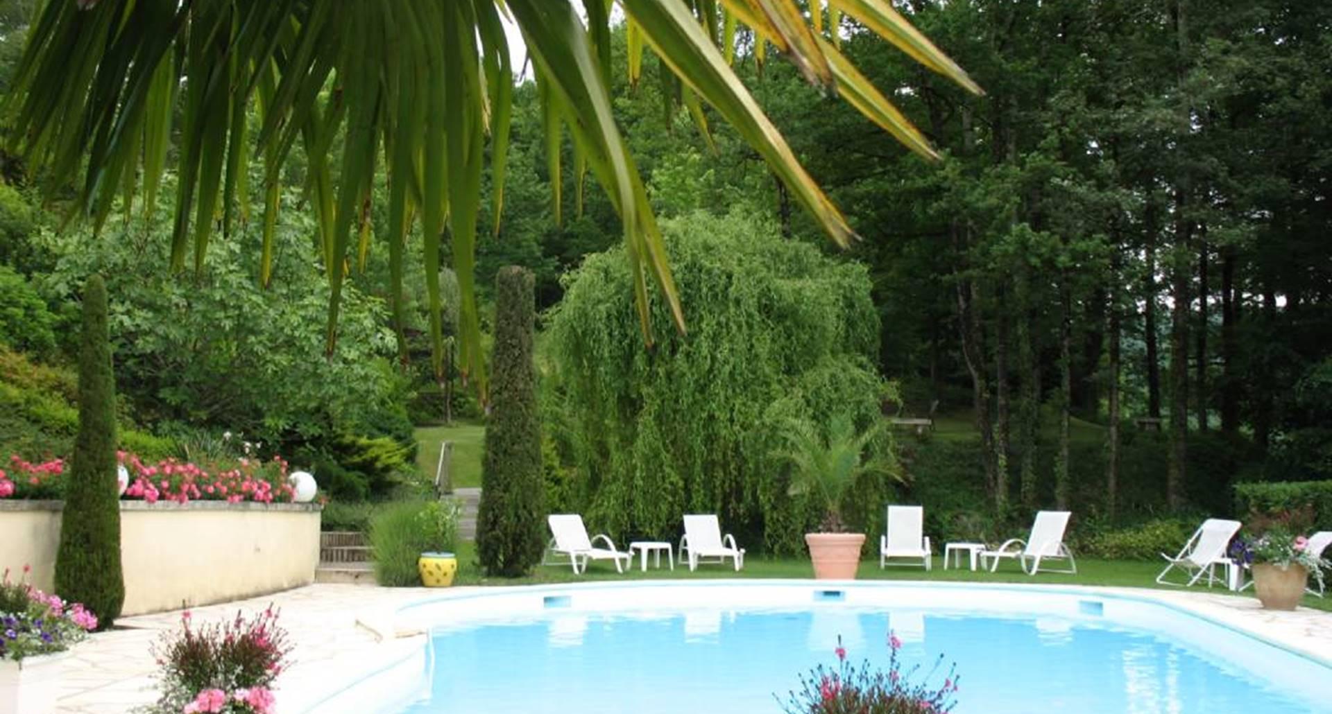 Villa Ric - piscine chauffée - parc