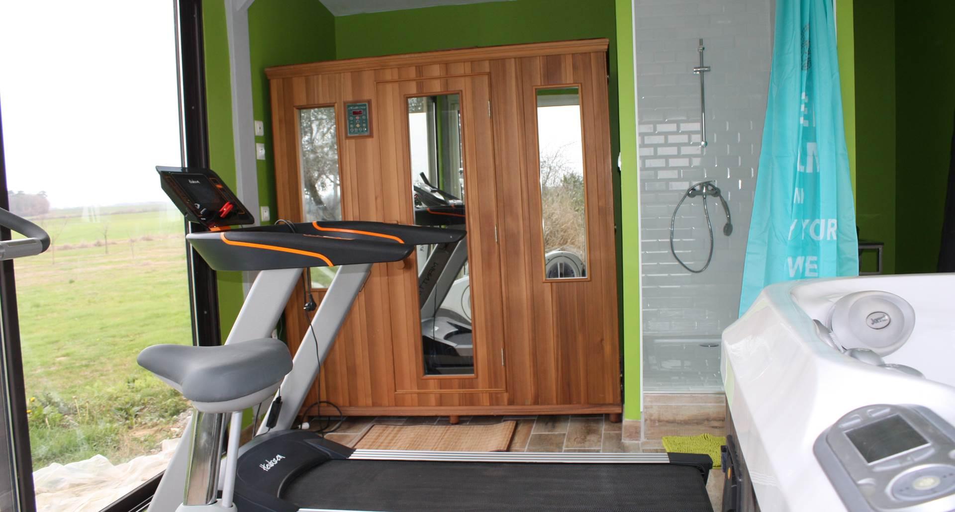 Sauna et Fitness