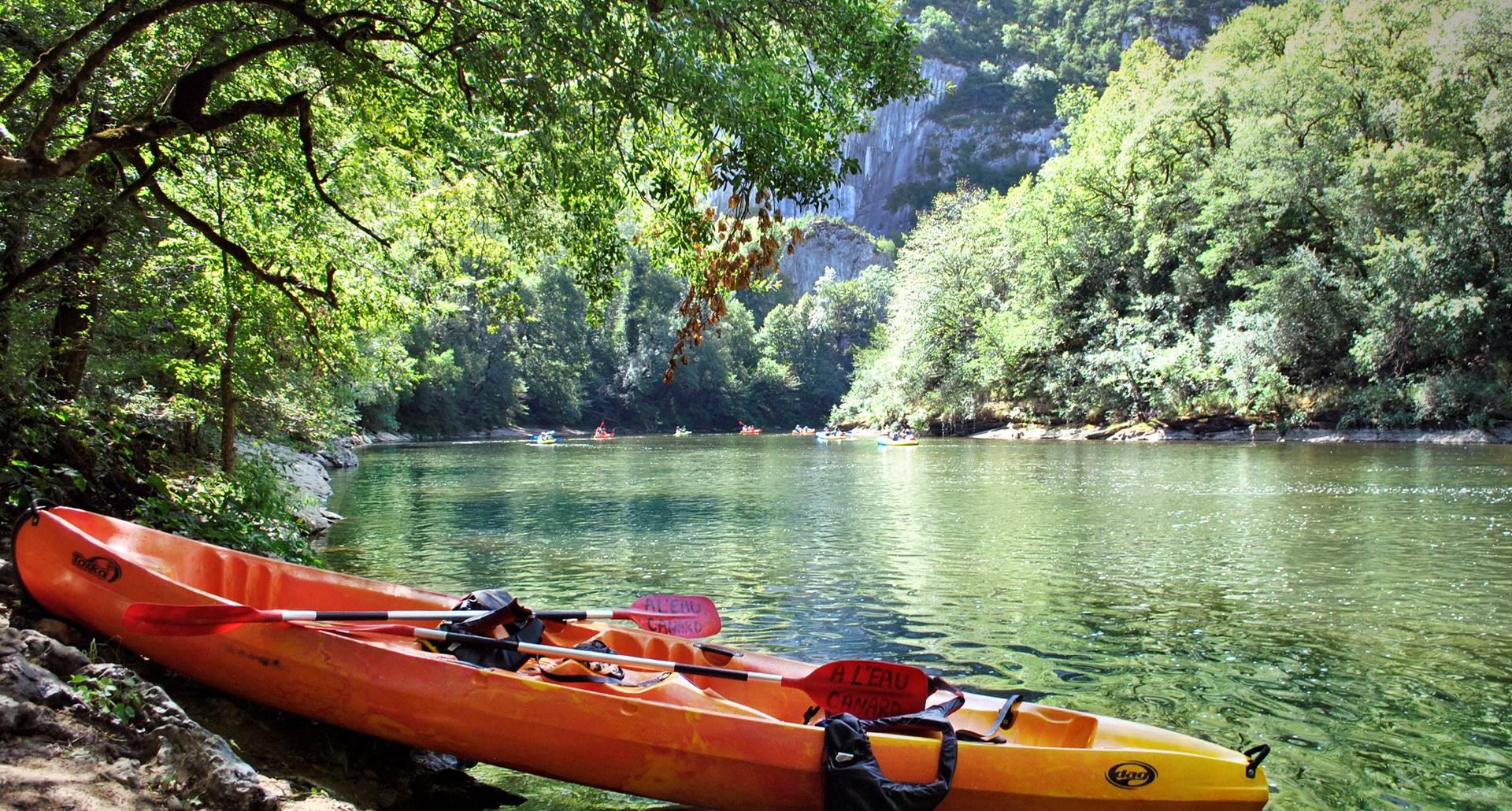 Louer un canoe