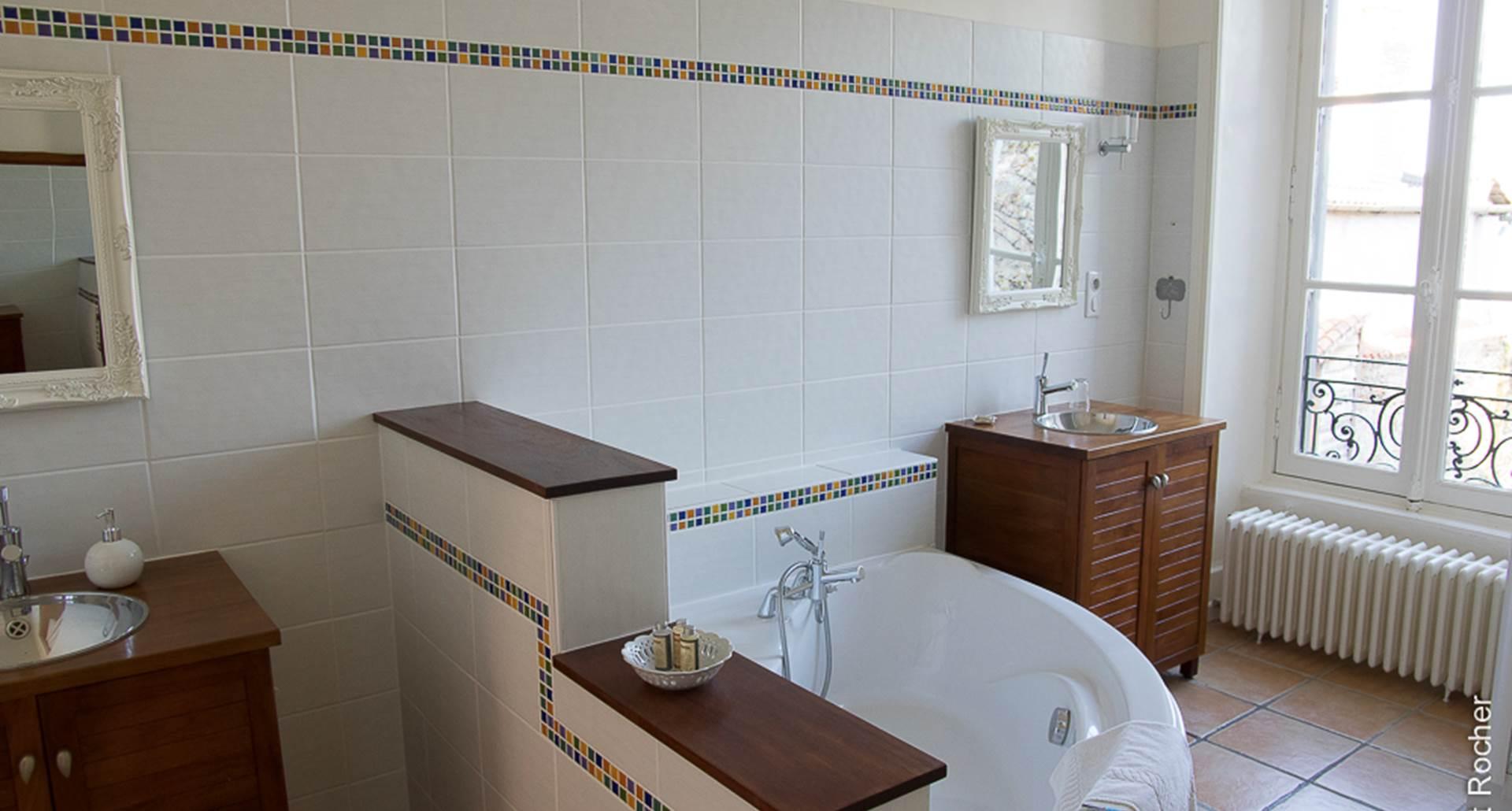 Suite Lys Rouge - salle de bain