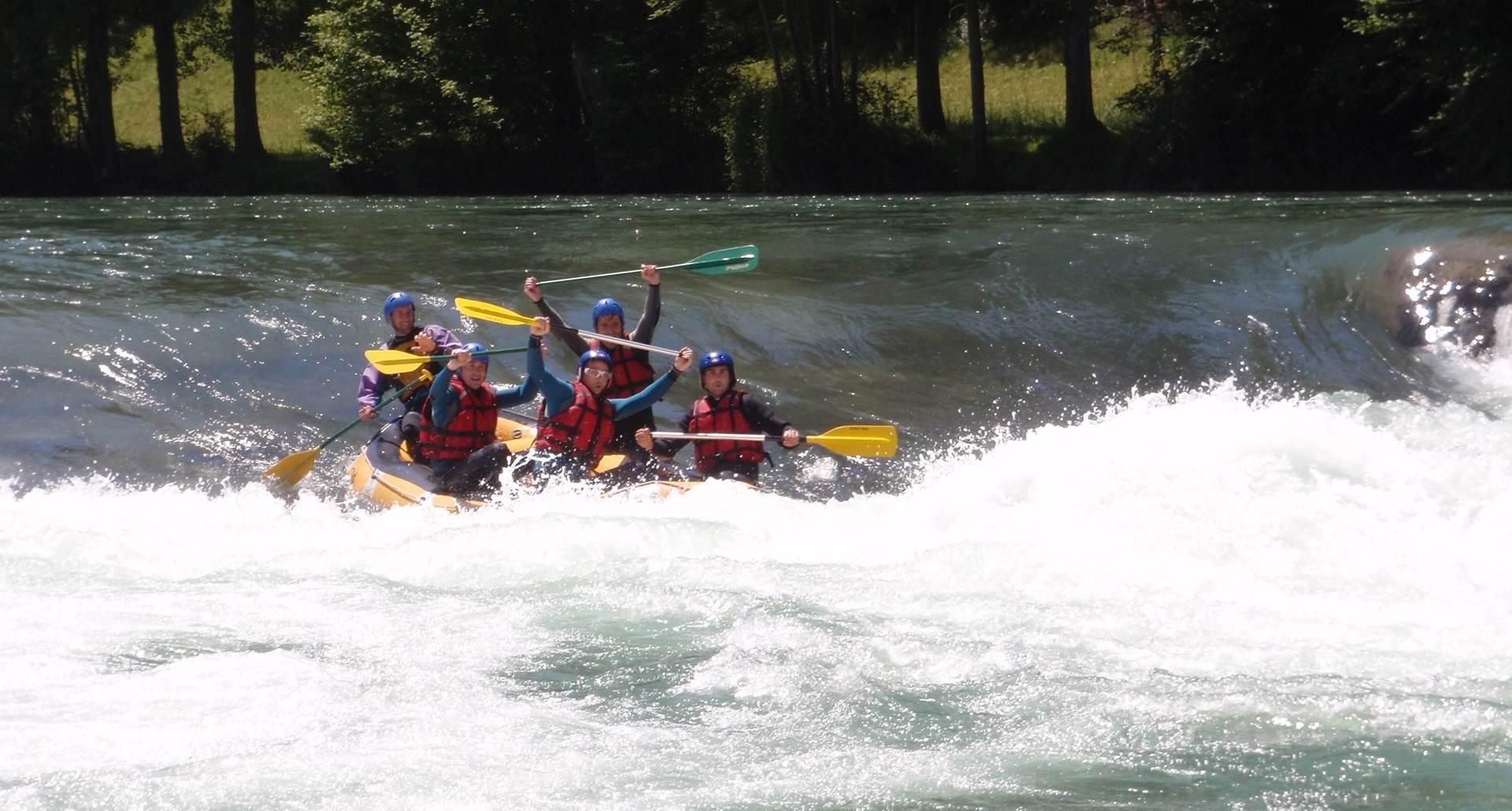 rafting raft evasieau montaut Lestelle betharram