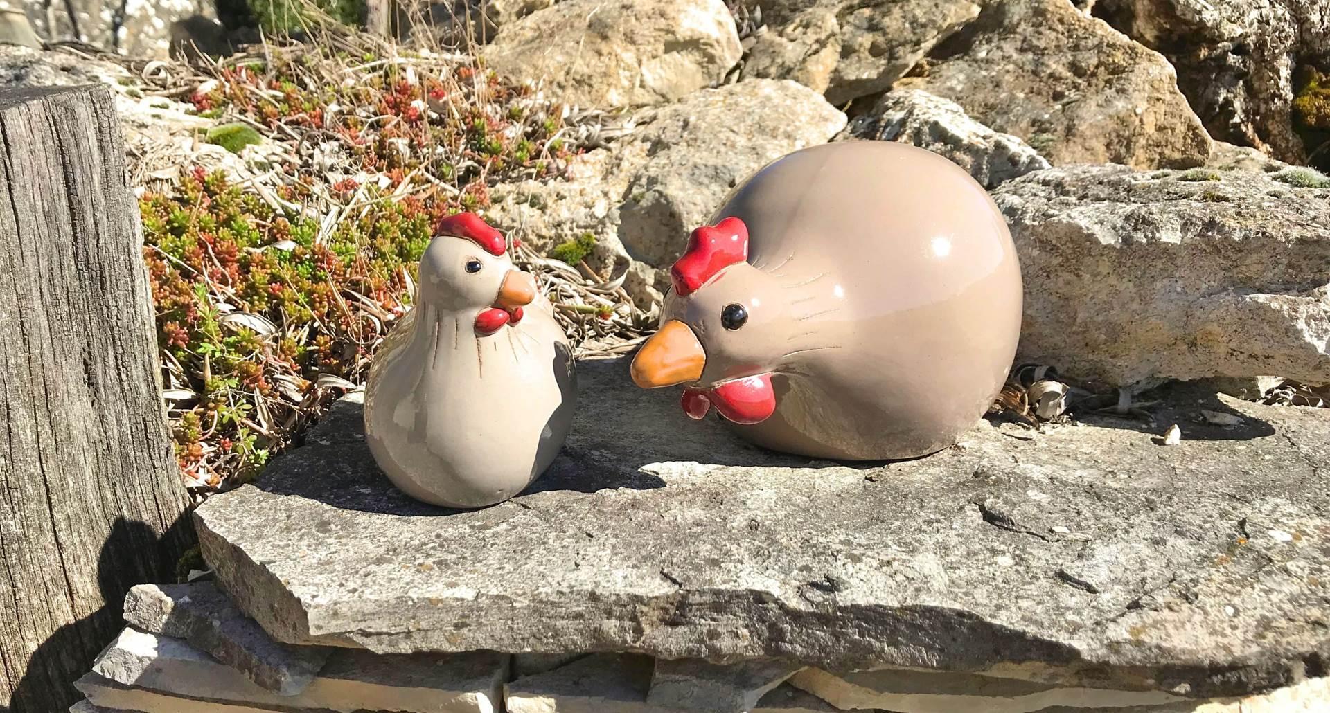 Les mascottes de Côtés Granges
