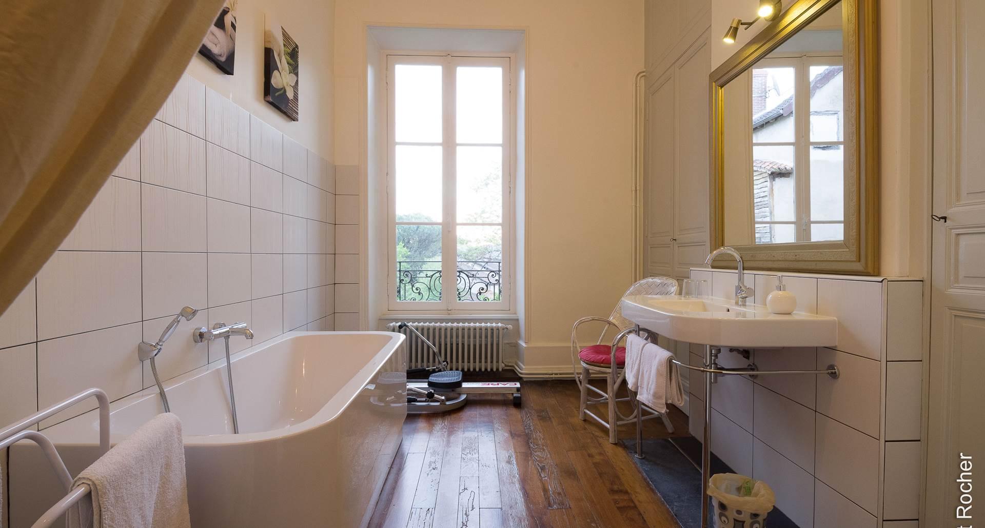 Suite Lys Royal - Salle de bain et fitness