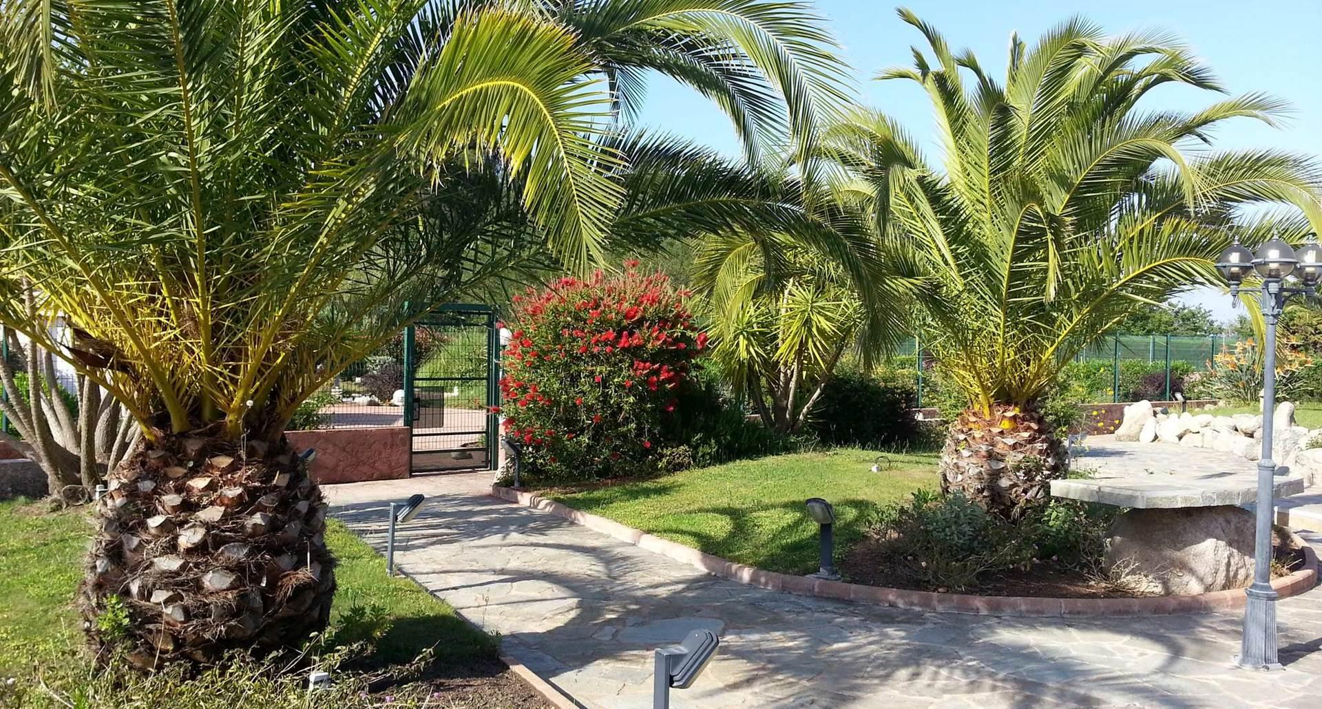 Jardins accès mini Golf