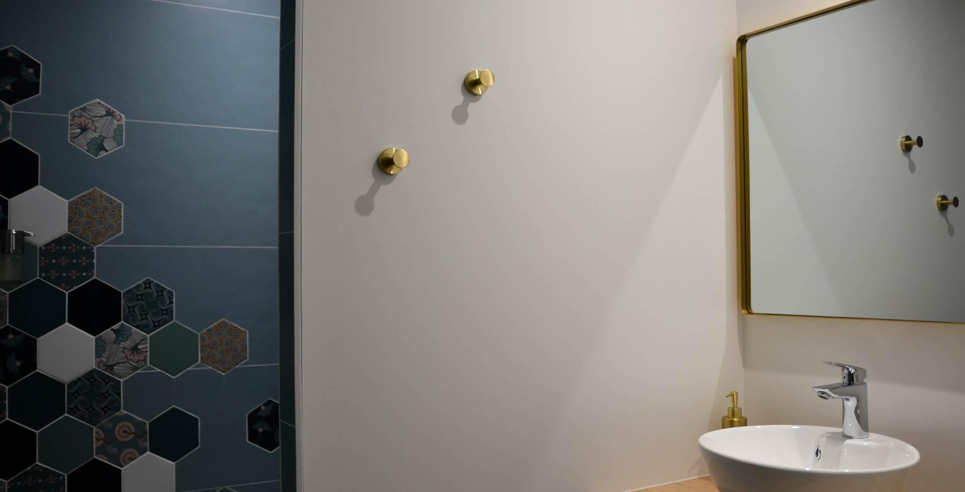 salle de douche la canon et la carré