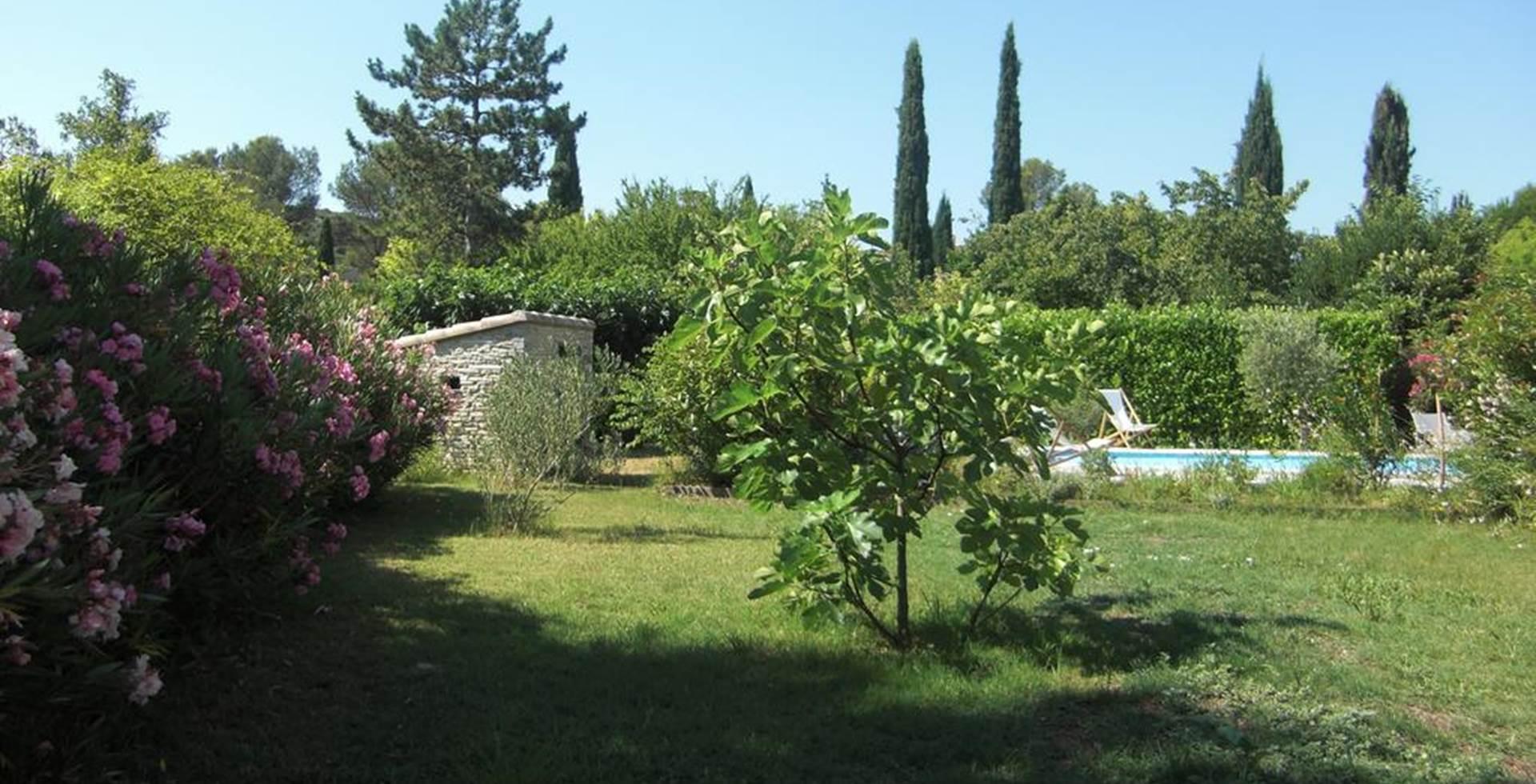 Jardin Maison d'hôtes La Soucarède Grabels