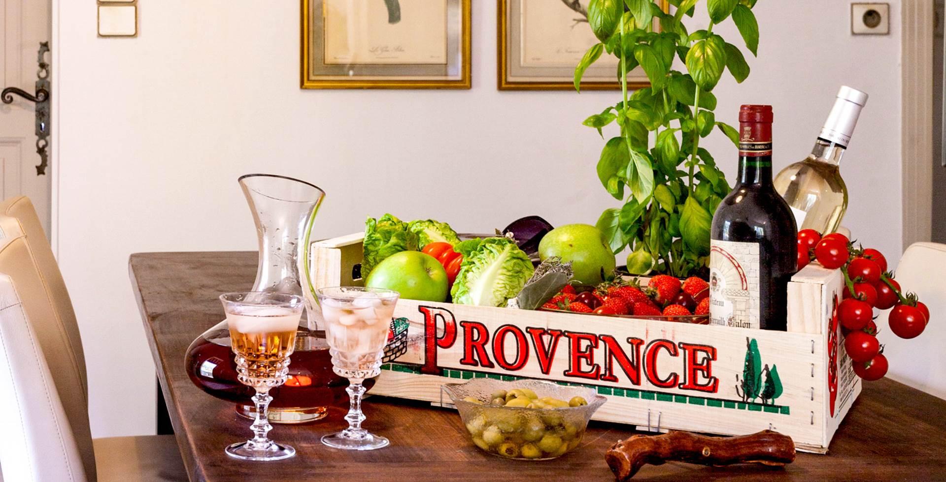 Les charmes de la Provence