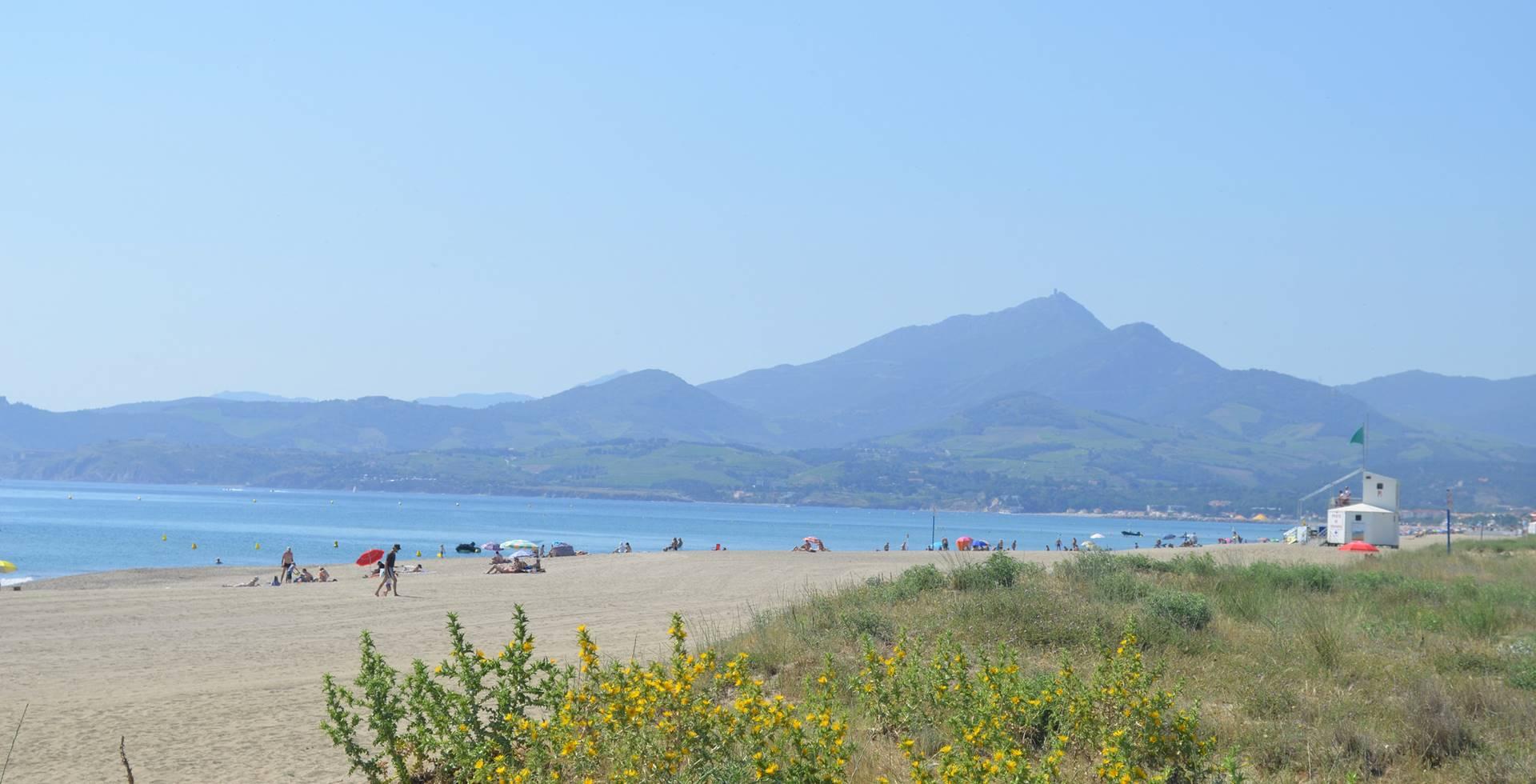 plage de la Marende à 10 min à pieds