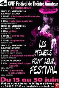 XVIIe festival de théâtre amateur