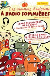 Les vacances d'Automne à Radio Sommières