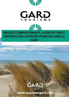 Enquête comportement, satisfaction et dépenses de la clientèle touristique française dans le Gard