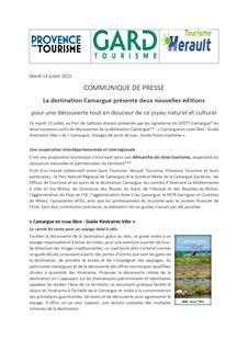 La destination Camargue présente deux nouvelles éditions