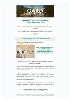 Newsletter du 05/10/2020