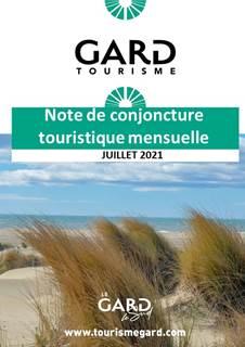 Note de conjoncture touristique - Juillet 2021