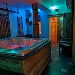 Espace jacuzzi  Sauna
