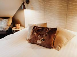 Ambiance cosy de la chambre