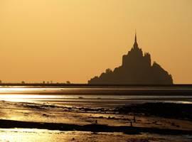Lumières du soir au Mont Saint-Michel