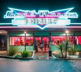 Café racer diner