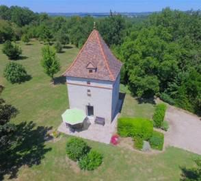 Gîte le Pigeonnier typique du Sud-Ouest près d'Auvillar en Tarn et Garonne