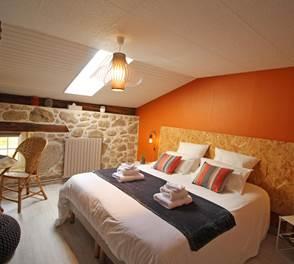 Chambre Feuillardier - La Vieille Maison de Pensol - PNR Périgord-Limousin