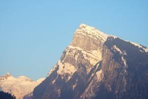 Vue exterieur sur la montagne