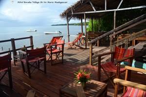 Terrasse Restaurant Boraha VIllage Ile Ste Marie Madagascar 03