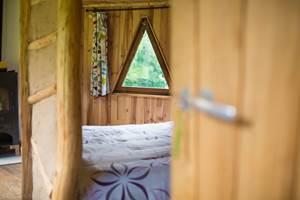 La cabane en bois, côté nuit