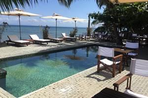 La piscine chez Idylle Beach île Sainte Marie MADAGASCAR