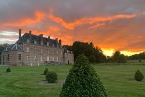 Château d'Auteuil soleil couchant