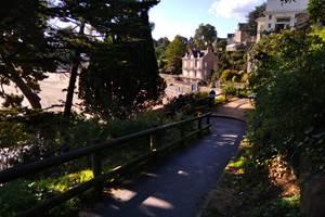 Clos de la Fontaine Dinard, accès à la plage du Prieuré à 100m
