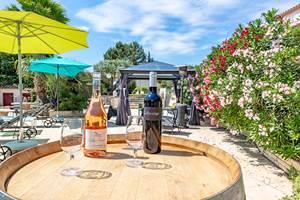Dégustation-de-vin-produits-locaux-Casa-Dina-Sommières