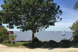 vue vers la Rochelle et l'Ile de Ré à 300 m de la maison