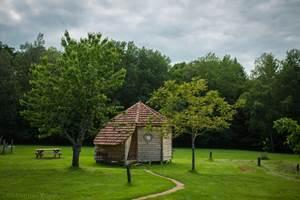 La cabane en bois par temps d'orage !