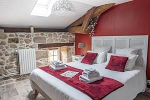 Clédier - La Vieille Maison de Pensol - Chambre double