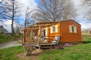 Camping la Chevauchée en Creuse - bungalow