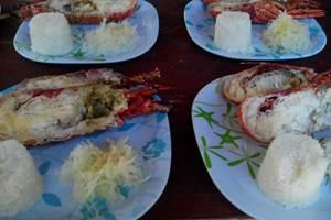 Repas Langouste