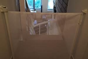 Barrière de sécurité haut escalier