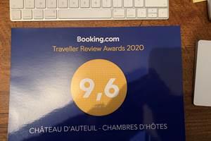 Note booking château d'Auteuil