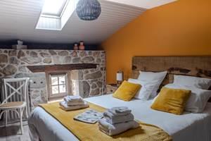 Châtaignier - La Vieille Maison de Pensol - Chambre double