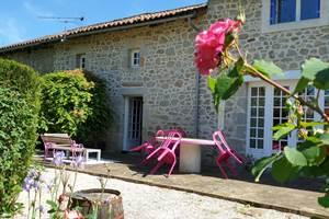 La terrasse - La Vieille Maison de Pensol